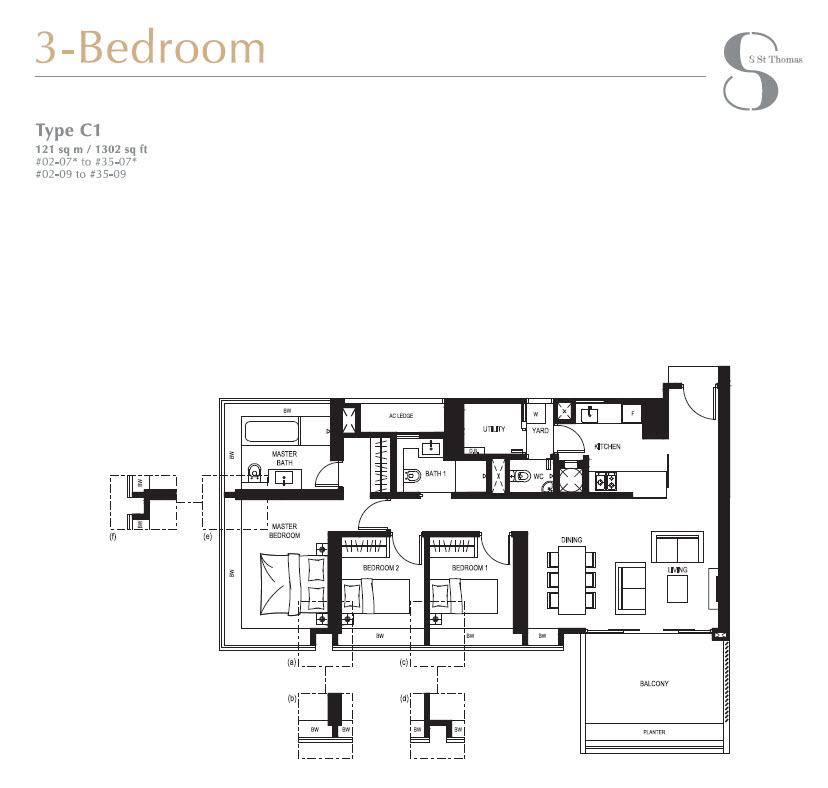 8 St Thomas Floor Plans 8 Saint Thomas 169 Official Site