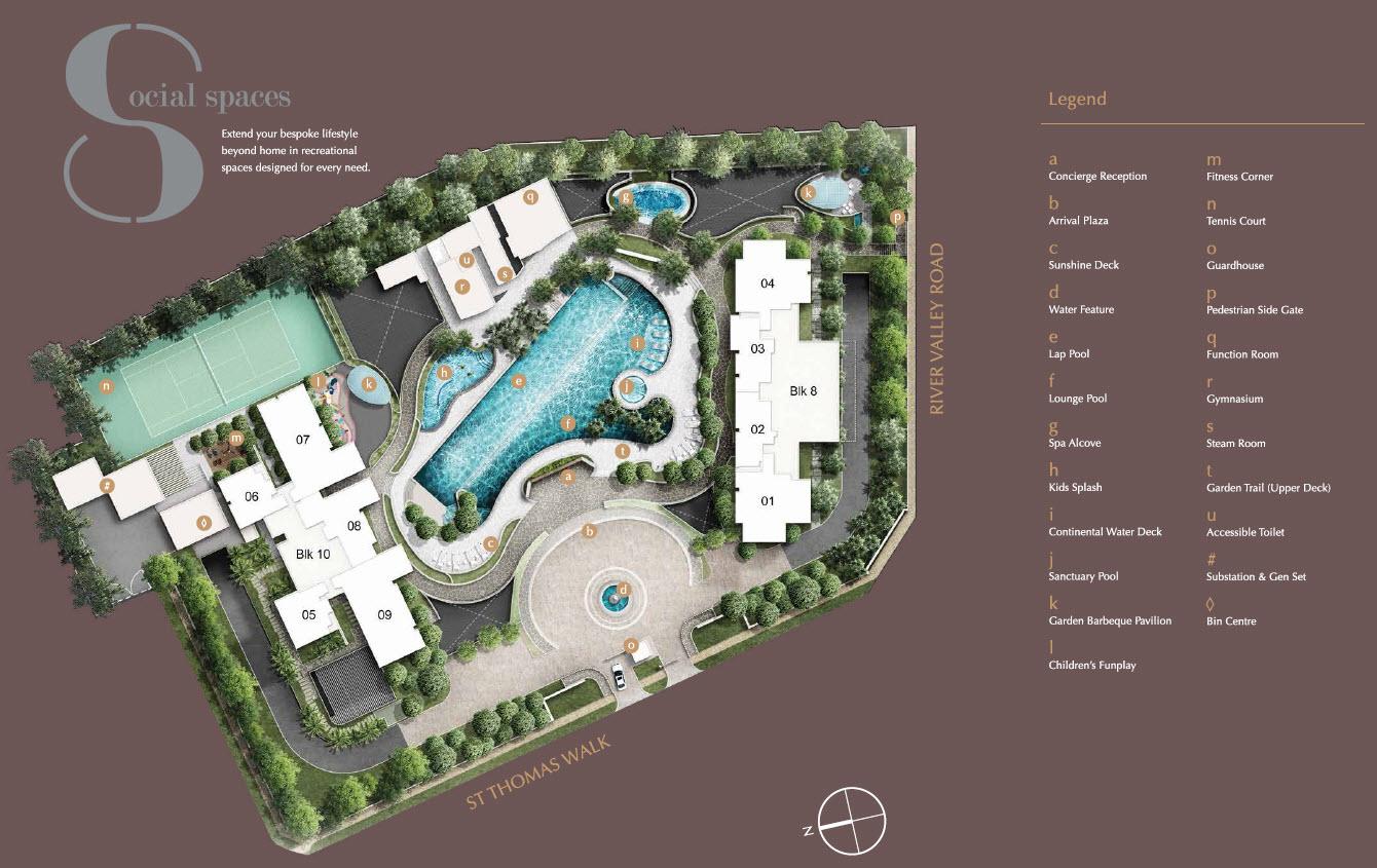 8 St Thomas Site Plan 8 Saint Thomas Official Site Condo At Great World City By Bukit Sembawang Estates